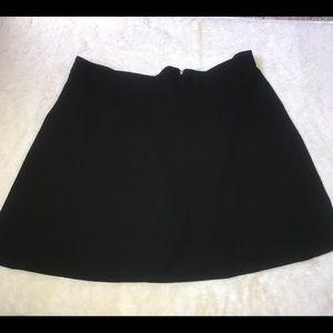 Ashley Stewart Black short skirt